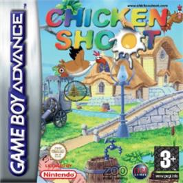 Box cover for Chicken Shoot on the Nintendo Game Boy Advance.