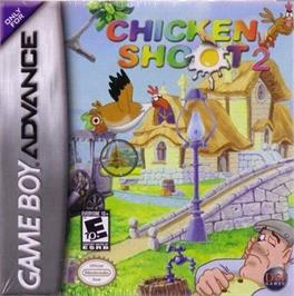 Box cover for Chicken Shoot 2 on the Nintendo Game Boy Advance.