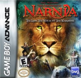Box cover for Chronicles of Narnia: The Lion, the Witch and the Wardrobe on the Nintendo Game Boy Advance.