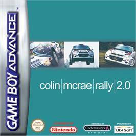 Box cover for Colin McRae Rally 2.0 on the Nintendo Game Boy Advance.