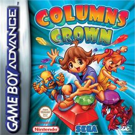 Box cover for Columns Crown on the Nintendo Game Boy Advance.
