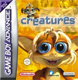 Box cover for Creatures on the Nintendo Game Boy Advance.