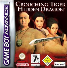 Box cover for Crouching Tiger, Hidden Dragon on the Nintendo Game Boy Advance.