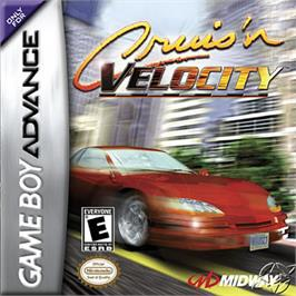 Box cover for Cruis'n Velocity on the Nintendo Game Boy Advance.