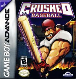 Box cover for Crushed Baseball on the Nintendo Game Boy Advance.