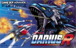 Box cover for Darius R on the Nintendo Game Boy Advance.