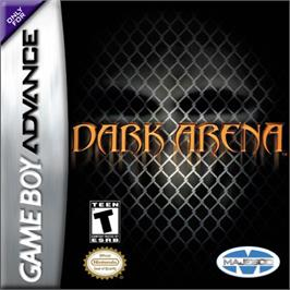 Box cover for Dark Arena on the Nintendo Game Boy Advance.