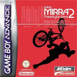 Box cover for Dave Mirra Freestyle BMX 2 on the Nintendo Game Boy Advance.