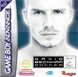 Box cover for David Beckham Soccer on the Nintendo Game Boy Advance.