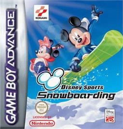 Box cover for Disney Sports Snowboarding on the Nintendo Game Boy Advance.