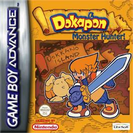 Box cover for Dokapon on the Nintendo Game Boy Advance.