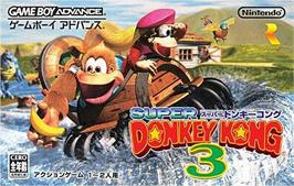 Box cover for Donkey Kong 3 on the Nintendo Game Boy Advance.