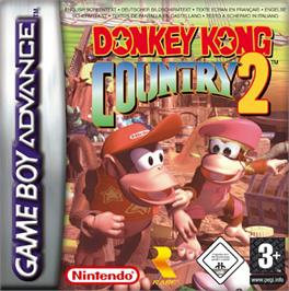 Box cover for Donkey Kong Country 2: Diddy's Kong Quest on the Nintendo Game Boy Advance.