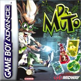 Box cover for Dr. Muto on the Nintendo Game Boy Advance.