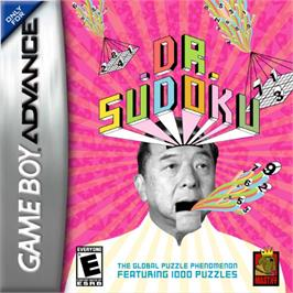Box cover for Dr. Sudoku on the Nintendo Game Boy Advance.