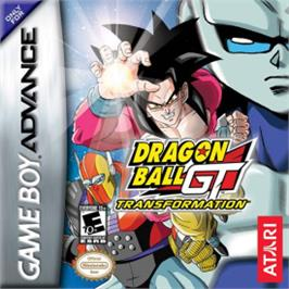 Box cover for Dragonball GT: Transformation on the Nintendo Game Boy Advance.