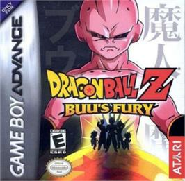 Box cover for Dragonball Z: Buu's Fury on the Nintendo Game Boy Advance.