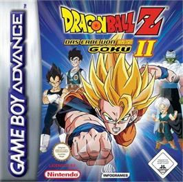 Box cover for Dragonball Z: Legacy of Goku 2 on the Nintendo Game Boy Advance.