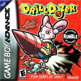 Box cover for Drill Dozer on the Nintendo Game Boy Advance.