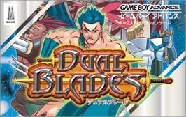 Box cover for Dual Blades on the Nintendo Game Boy Advance.