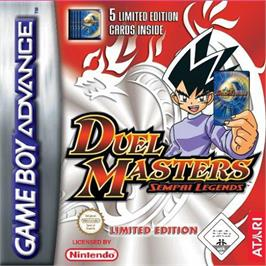 Box cover for Duel Masters Sempai Legends on the Nintendo Game Boy Advance.
