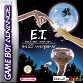 Box cover for E.T. The Extra-Terrestrial on the Nintendo Game Boy Advance.