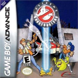 Box cover for Extreme Ghostbusters: Code Ecto-1 on the Nintendo Game Boy Advance.