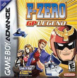 Box cover for F-Zero: GP Legend on the Nintendo Game Boy Advance.