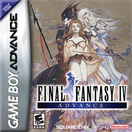 Box cover for Final Fantasy 2 on the Nintendo Game Boy Advance.