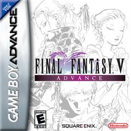 Box cover for Final Fantasy 5 on the Nintendo Game Boy Advance.