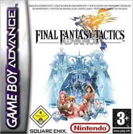 Box cover for Final Fantasy Tactics Advance on the Nintendo Game Boy Advance.