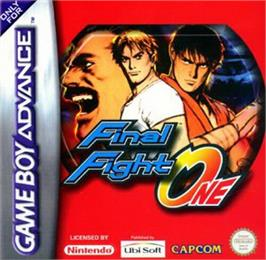 Box cover for Final Fight on the Nintendo Game Boy Advance.