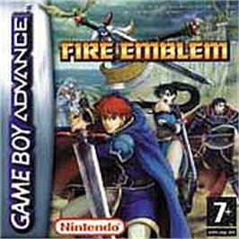 Box cover for Fire Emblem on the Nintendo Game Boy Advance.