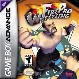 Box cover for Fire Pro Wrestling on the Nintendo Game Boy Advance.