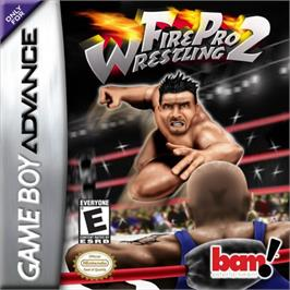 Box cover for Fire Pro Wrestling 2 on the Nintendo Game Boy Advance.