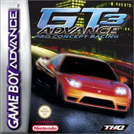 Box cover for GT Advance 3: Pro Concept Racing on the Nintendo Game Boy Advance.