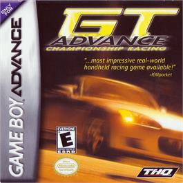 Box cover for GT Advance Championship Racing on the Nintendo Game Boy Advance.