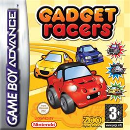 Box cover for Gadget Racers on the Nintendo Game Boy Advance.