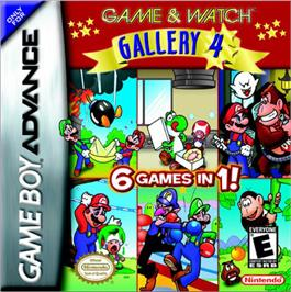 Box cover for Game & Watch Gallery 4 on the Nintendo Game Boy Advance.
