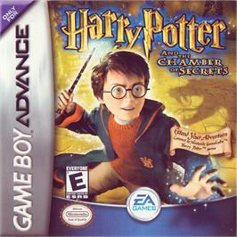 Box cover for Harry Potter and the Chamber of Secrets on the Nintendo Game Boy Advance.