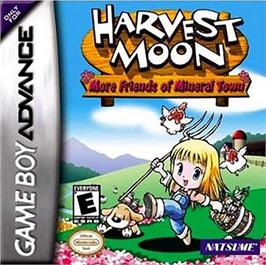 Box cover for Harvest Moon: More Friends of Mineral Town on the Nintendo Game Boy Advance.