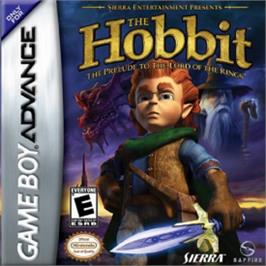 Box cover for Hobbit on the Nintendo Game Boy Advance.