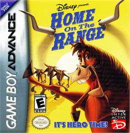 Box cover for Home on the Range on the Nintendo Game Boy Advance.