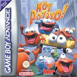 Box cover for Hot Potato on the Nintendo Game Boy Advance.