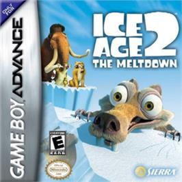 Box cover for Ice Age 2: The Meltdown on the Nintendo Game Boy Advance.