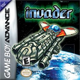 Box cover for Invader on the Nintendo Game Boy Advance.