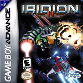 Box cover for Iridion 2 on the Nintendo Game Boy Advance.