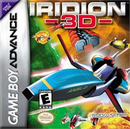 Box cover for Iridion 3D on the Nintendo Game Boy Advance.