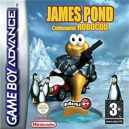Box cover for James Pond 2: Codename: RoboCod on the Nintendo Game Boy Advance.