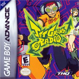 Box cover for Jet Grind Radio on the Nintendo Game Boy Advance.